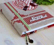 Книга рецептов ручной работы